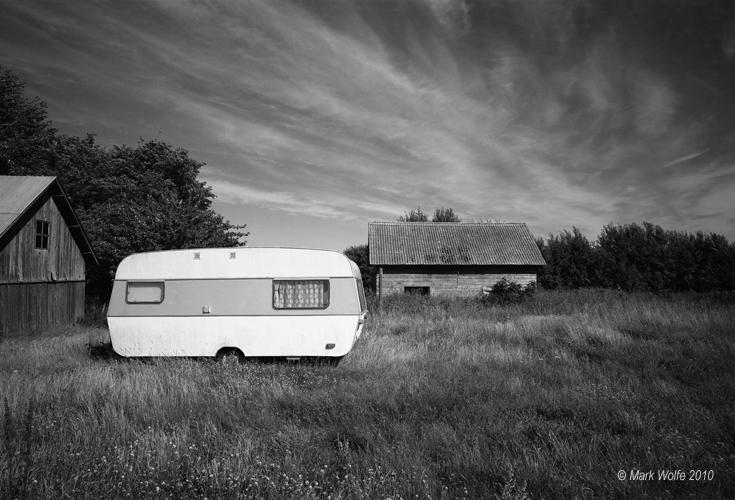 Gotland   husvagn