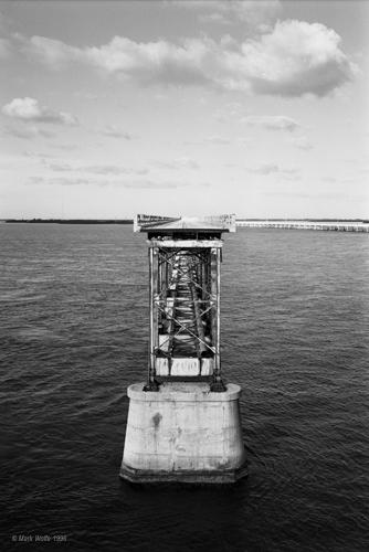 Old Bahia Honda bridge   Florida Keys