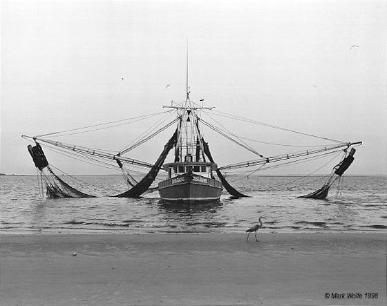 shrimp boat   Jekyll Island
