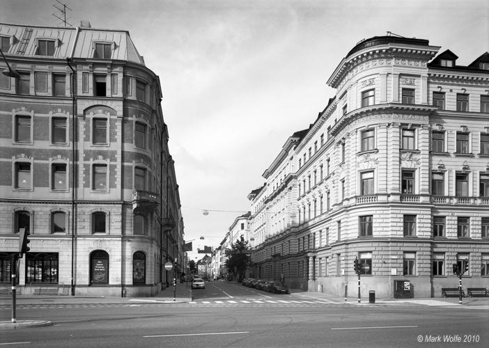 Tegnérgatan inleds vid Birger Jarlsgatan