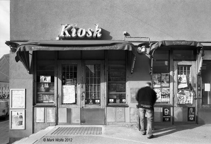 Kiosk   Östra stations området