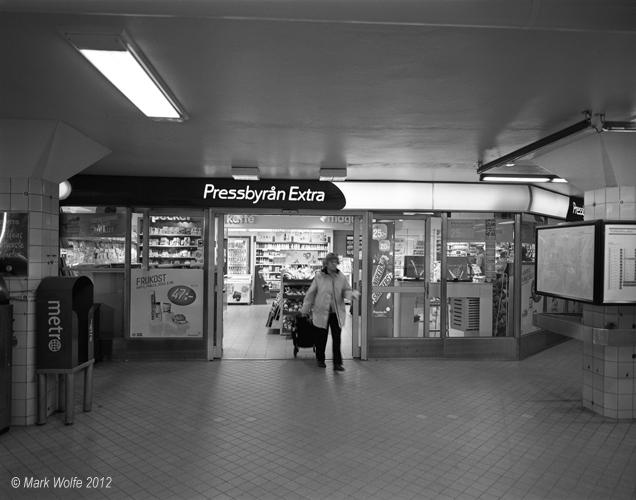 Pressbyrån   Odenplan t banestation
