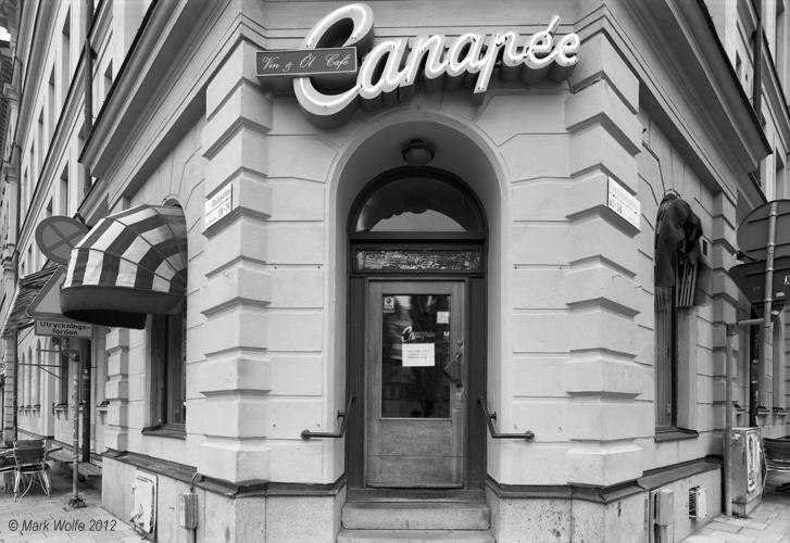 Canapée   Dalagatan vid Kungstensgatan