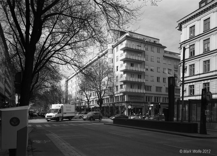 Sveavägen vid Rådmansgatan